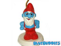 smurf lamp smurfette lamp mushroom shade papa smurf lamp