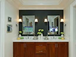Small Bathroom Mirrors by Style Wonderful Contemporary Bathroom Mirror Frames Small