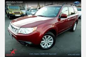 2012 Subaru Forester Interior Used 2012 Subaru Forester For Sale Pricing U0026 Features Edmunds