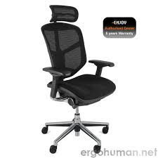 white fabric office chair enjoy fabric seat mesh back office chair ergohuman enjoy