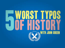 The Fault In Our Stars Resume 5 Worst Typos Of History Youtube