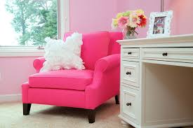 Childs Pink Armchair Chic Pink Chair Vogue Cleveland Traditional Bedroom Decoration