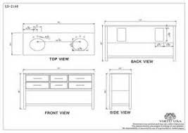 Sink Dimensions Kitchen by Bathroom Vanity Depth Dimensions Tsc