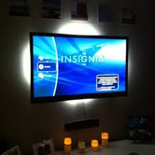 ambient light behind tv hacked ikea leds matches what s on the screen screens ambient