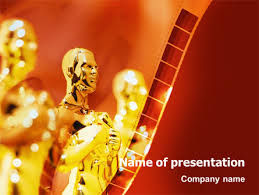 movie award presentation template for powerpoint and keynote ppt
