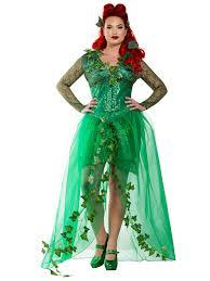 Sally Halloween Costume Size Check Women U0027s Curvy Ivy U0027s Poison Costume Size