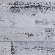 weathered white peel and stick diy wood wall covering ec wall