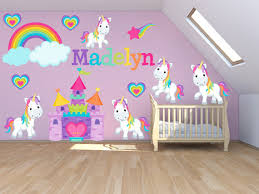 Wall Decal For Kids Room by Rainbow Wall Decal Kids Bedroom Rainbows Rainbow By Primedecal