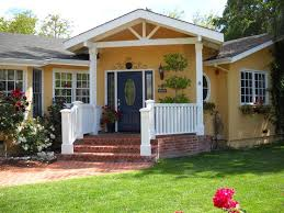 nice ranch house colors with also yellow house wall color exterior
