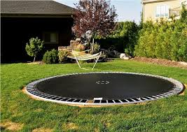 in ground trampoline safety trampoline for your health