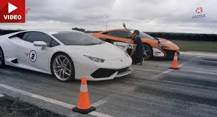 mclaren vs mclaren 650s vs lamborghini huracan lp610 4 drag race