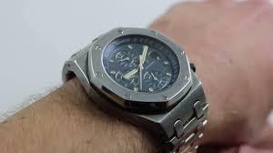 audemars piguet royal oak offshore chrono 25721 luxury watch
