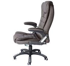 fauteuils de bureaux notre avis sur le fauteuil de bureau massant homcom travailler relaxé