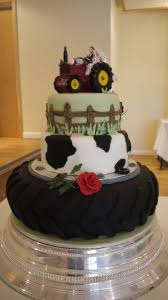 tractor wedding cake topper elizabeth s confectionery wedding cakes and catering in