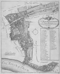 St John Map Map Of The Parishes Of St Mary Whitechapel And St John Wapping