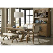 dining room country style wooden dinette sets with bench and