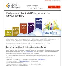 event recap template 7 exles of successful email templates a study