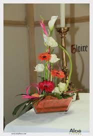 Decoration Florale Mariage Décoration Florale D U0027église U0026 Mariage Aloé Fleurs5 Aloe Fleurs