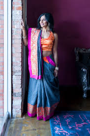 How To Drape A Gujarati Style Saree Two Step Sari Gujarati Style Two Step Saree U2013 Janam Maternity