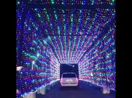christmas light displays in michigan daytona international speedway magic of lights holiday display youtube