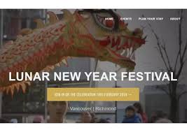vancouver convention bureau lunar year festival website promotes diverse celebrations in