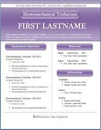 Microsoft Word Resume Sample Cv Resume Template Word Jospar
