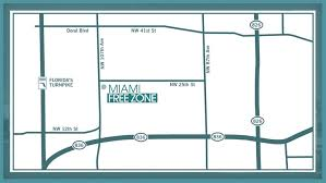 Florida Turnpike Map by Directions Miami Free Zone