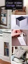 20 clever hidden storage ideas hative