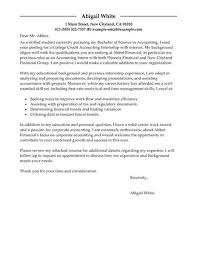 financial reporting accountant cover letter