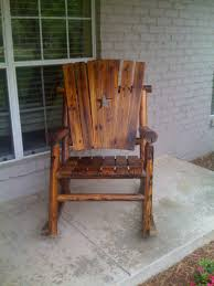 Outdoor Rocking Chairs Rocking Chair Furniture Wooden Dark Black Outdoor Rocking Chairs For
