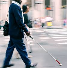 Blind Man Cane Pennsylvania Signs Able Act Into Law Benefitting The Disabled