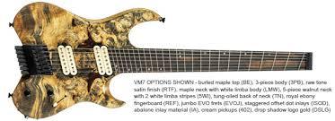 fanned fret 7 string fan fret 7 string under 1000 ultimate guitar