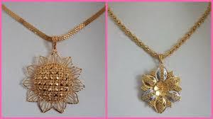 girl gold necklace images Latest gold pendant designs for girls designer gold pendant jpg