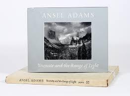 ansel adams yosemite and the range of light poster yosemite and the range of light ansel adams 1st edition