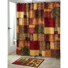 Green And Brown Shower Curtains Adirondack Pine Shower Curtain Green Gold Avanti Target