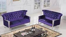 Purple Settee Purple Sofas Loveseats And Chaises Ebay