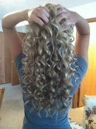 easy curling wand for permed hair 14 best curls images on pinterest curl formers hair colors and