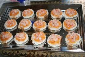 petits canapes petits canapés aux crevettes la cuisine de nanette