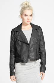 genuine leather motorcycle jacket blanknyc quilted faux leather moto jacket nordstrom sneaker