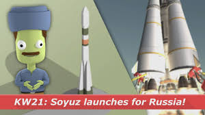 soyuz launches for russia knews w 21 2017 youtube