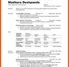 college resume format ideas undergraduate resume format for fresh exles students of