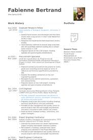 Sample Resume For Civil Site Engineer by Research Fellow Resume Samples Visualcv Resume Samples Database