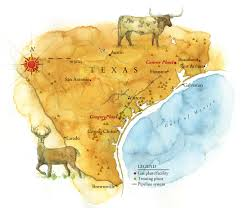 Austin Texas On Map by Watercolor Maps By Steven Stankiewicz At Coroflot Com