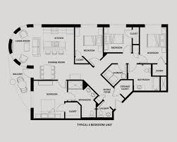 4 bedroom apartments downtown ta apartment floor plans the tempo at encore