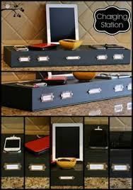 build a charging station diy family charging station organizations organizing and storage