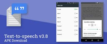 text to speech apk update official changelog new languages and more text to
