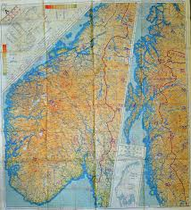Map Of Norway Wwii Raf Escape Map Of Norway Sweden Denmark And Northern