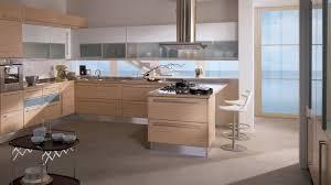 italian designed scavolini kitchen with white granite and beech