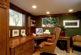amazing modern home office furniture with curved wood office desk