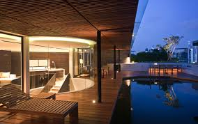 beverly hills penthouse rooftop terrace in singapore by bedmar